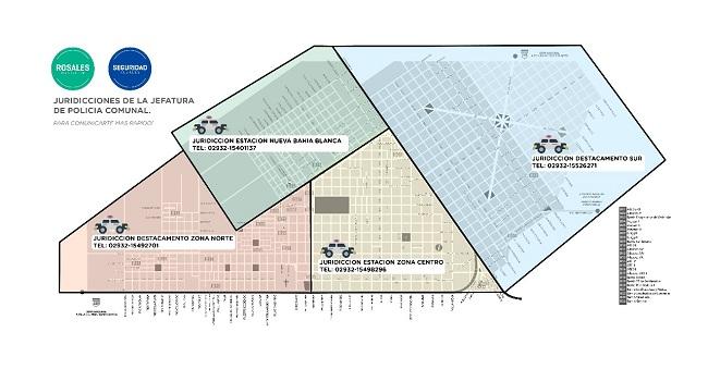 Cada barrio tiene su nmero de telfono policial punta noticias mapa thecheapjerseys Image collections