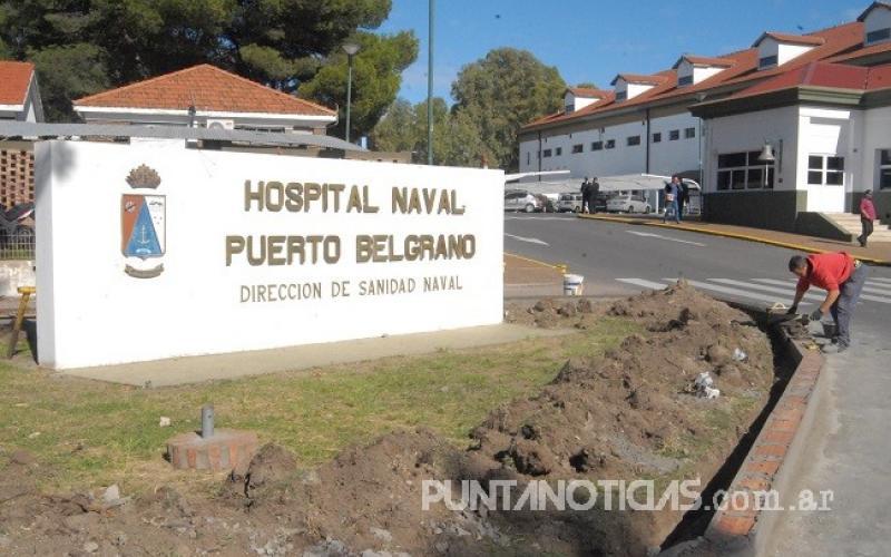 """Hospital Naval Puerto Belgrano: """"Decidimos hacer un paro hasta que nos paguen"""""""